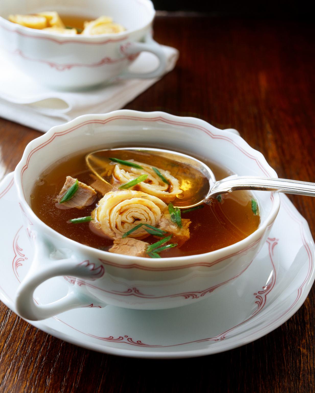 Schwäbische Rind-Flädle-Suppe